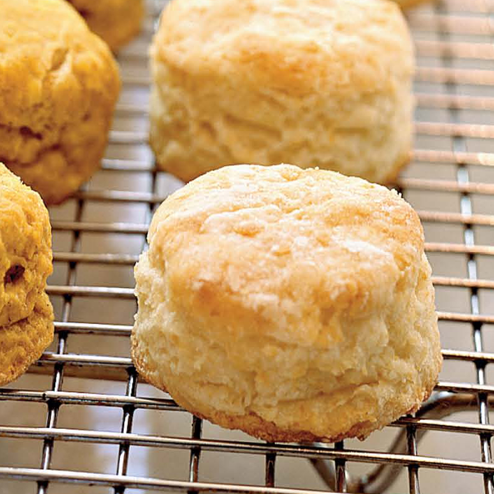 <p>Flaky Buttermilk Biscuits</p>