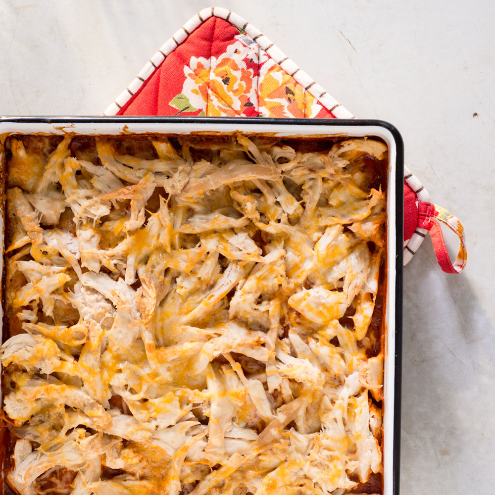 <p>Chicken Tamale Casserole</p>