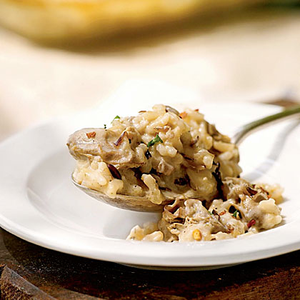 Oyster and Wild Rice Casserole
