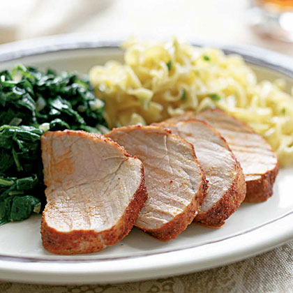 Pork Tenderloin With Paprika Spice Rub Recipe Myrecipes
