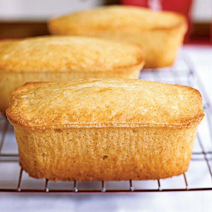 Vanilla Buttermilk Pound CakesRecipe