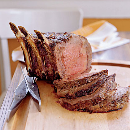Prime rib is a classic holiday main dish, often paired with horseradish and Yorkshire puddings - especially in Britain.  This impressive-looking cut of meat is both delicious and elegant, yet pretty simple to prepare.  We've served up seven different ways to season and serve prime rib at your holiday table.