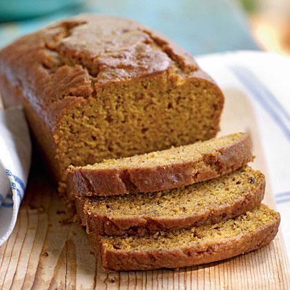 Pumpkin–Honey Beer Quick Bread
