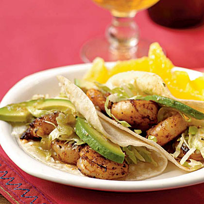 <p>Chipotle Shrimp Tacos</p>