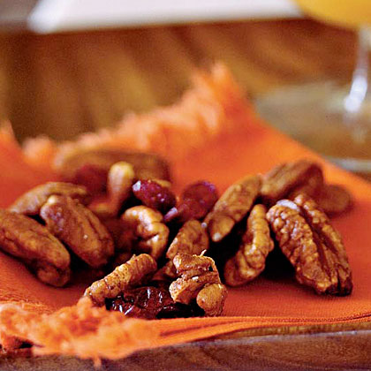 """LOVED this—sweet, spicy, fruity in just the right mix. This will be a regular holiday treat!"""" —rachel12345Orange Chipotle-Spiced Pecan Mix Recipe"""