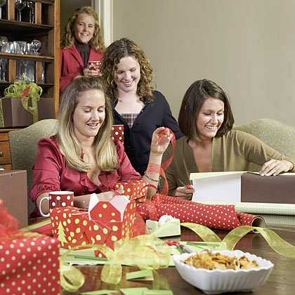 Girls' Night In: Gift-Wrapping Party