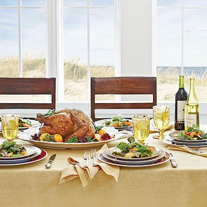 A Seaside Feast Menu