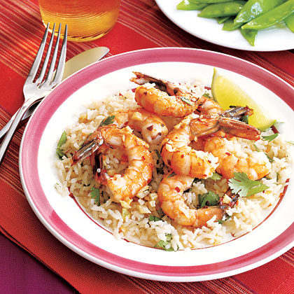 Coconut Shrimp and RiceRecipe