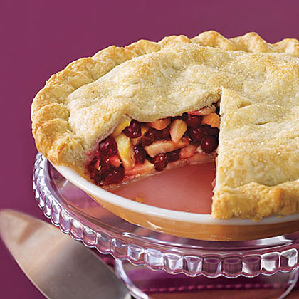 Cranberry-Pear Pie