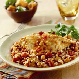 Fiesta Chicken with Rice & Beans