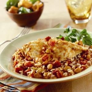 Fiesta Chicken with Rice & Beans