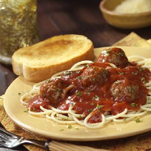 Hunt's Red and Ready Spaghetti and Meatballs Recipes