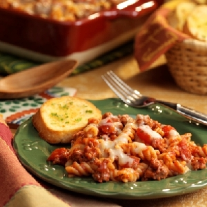 Hearty Pasta and Cheese Bake