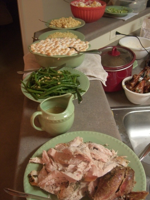 Thanksgiving Dinner in Two Hours or Less: Main Event