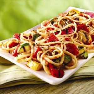 Grilled Veggie Pasta Primavera