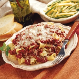 Savory Skillet Lasagna