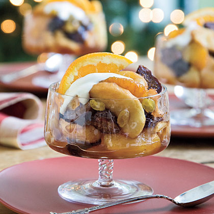 Sherry-Baked Winter Fruit