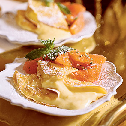Louisiana Citrus Crepes