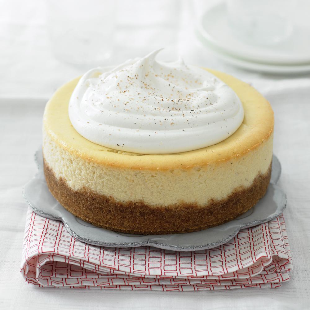 Eggnog CheesecakeRecipe
