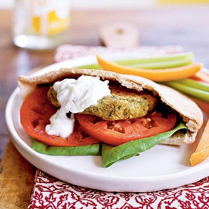 Falafel Pitas