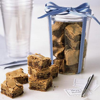 Ginger Chocolate-Chip Bars Recipe