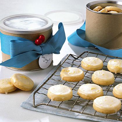 Glazed Lemon CookiesRecipe