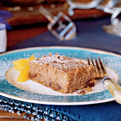 Orange, Date, and Nut Cake Recipe