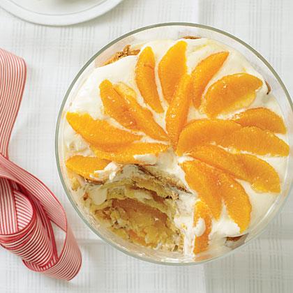 Orange Trifle with Grand Marnier Cream Recipe