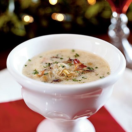 Oyster and Wild Rice Bisque Recipe