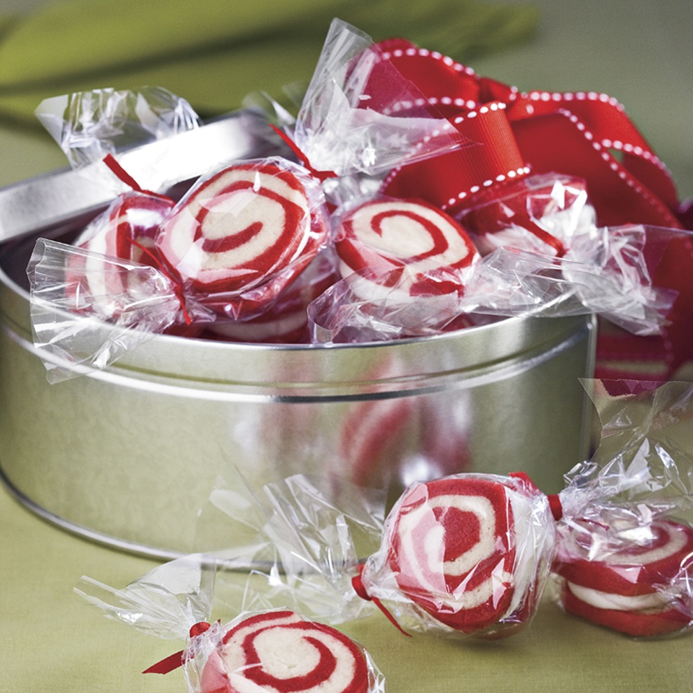Peppermint Pinwheel Cookies Recipe