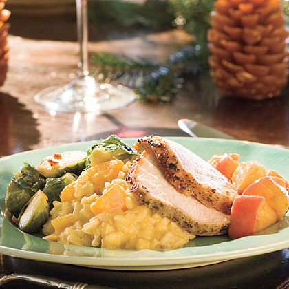 Pork Loin Roast With Carolina Apple CompoteRecipe