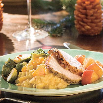 Pork Loin Roast With Carolina Apple Compote