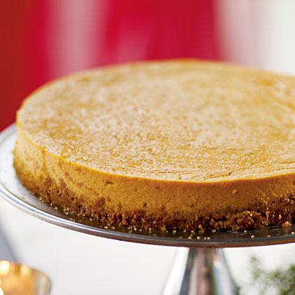 Ginger Pumpkin Cheesecake Recipe