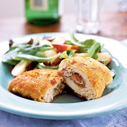 Prosciutto and Fontina–Stuffed Chicken Breasts Recipe