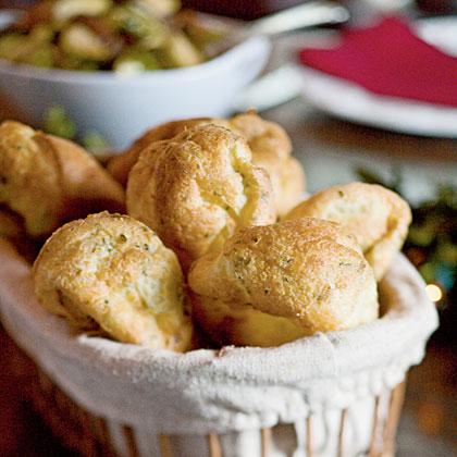 Fresh Thyme Popovers Recipe