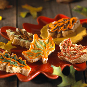 Kellogg's® Rice Krispies Treats® Autumn Leaves