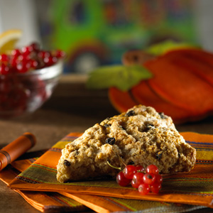 Orange-Walnut Scones with Currants