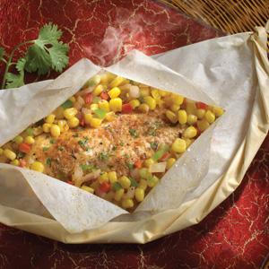 Cajun Style Catfish with Corn Salsa