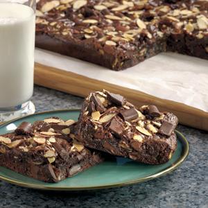 Caramel Chunk Brownies