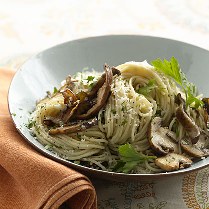 whole-wheat-pasta-mushroom Recipe