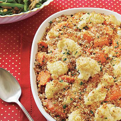 Cauliflower-Carrot Casserole