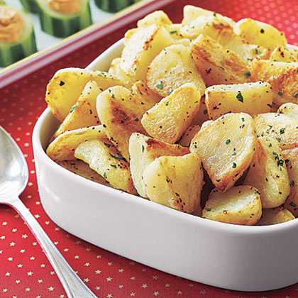 English Roast Potatoes Recipe
