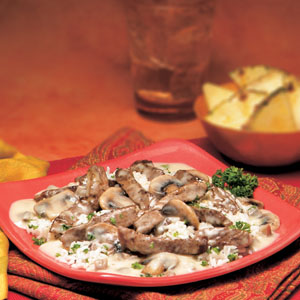 Campbell S 174 Beef Amp Mushroom Dijon Recipe Myrecipes Com