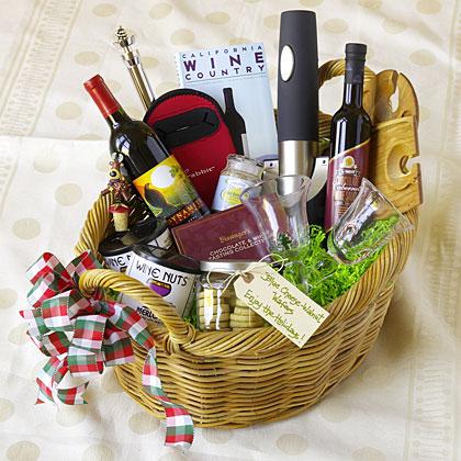 Wine Lover's Basket