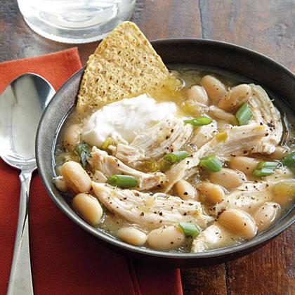 Southwestern Chicken Soup Recipe Myrecipes Com