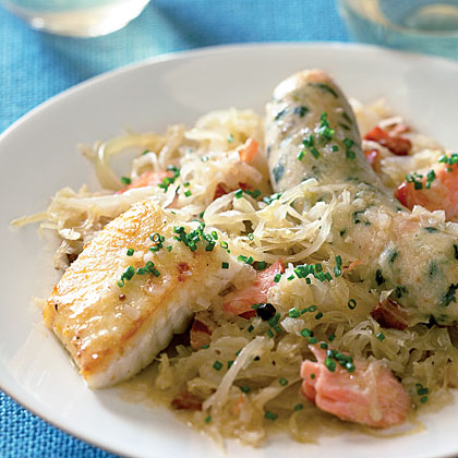 Wine-braised Seafood Choucroute