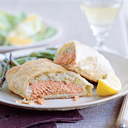 Salmon Wellington