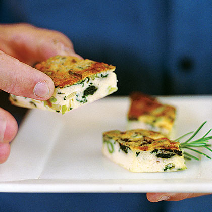 Spinach and Leek FrittataRecipe