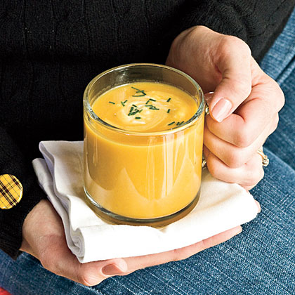 To serve 12, make two batches of soup instead of doubling the recipe.Butternut Squash-Parsnip Soup Recipe