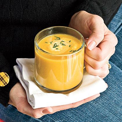 Butternut Squash-Parsnip Soup Recipe